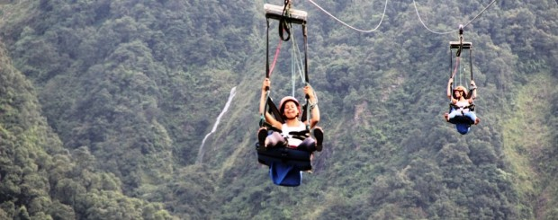 Zip Flyer in Pokhara,Nepal